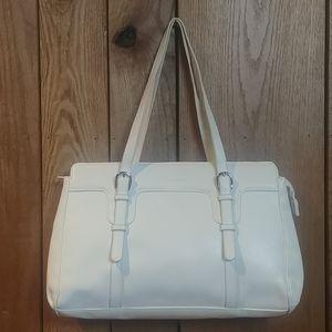 ⏳EUC Cream Work Computer Tote Shoulder Hand Bag